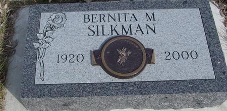 SILKMAN, BERNITA M. - Ida County, Iowa | BERNITA M. SILKMAN