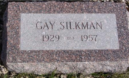 SILKMAN, GAY - Ida County, Iowa | GAY SILKMAN