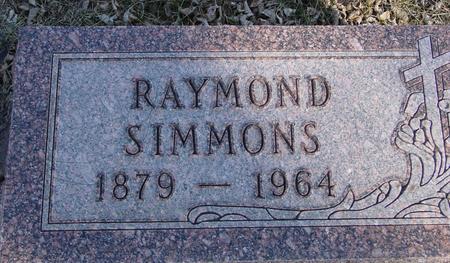 SIMMONS, RAYMOND - Ida County, Iowa | RAYMOND SIMMONS