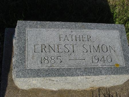 SIMON, ERNEST - Ida County, Iowa | ERNEST SIMON