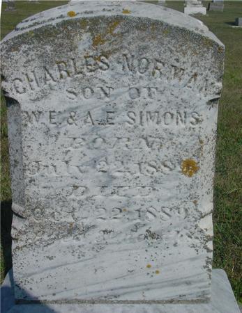 SIMONS, CHARLES NORMAN - Ida County, Iowa | CHARLES NORMAN SIMONS