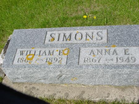 SIMONS, WILLIAM - Ida County, Iowa | WILLIAM SIMONS