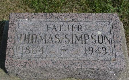 SIMPSON, THOMAS - Ida County, Iowa | THOMAS SIMPSON