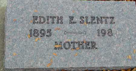 SLENTZ, EDITH E. - Ida County, Iowa | EDITH E. SLENTZ