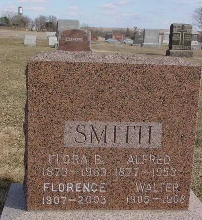 SMITH, ALFRED & FLORA B. - Ida County, Iowa | ALFRED & FLORA B. SMITH