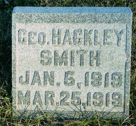 SMITH, GEORGE HACKLEY - Ida County, Iowa   GEORGE HACKLEY SMITH