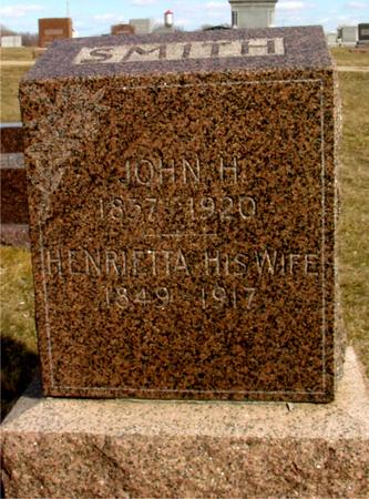 SMITH, JOHN & HENRIETTA - Ida County, Iowa | JOHN & HENRIETTA SMITH