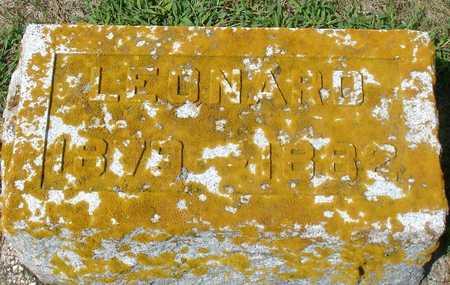 SNELL, LEONARD - Ida County, Iowa | LEONARD SNELL