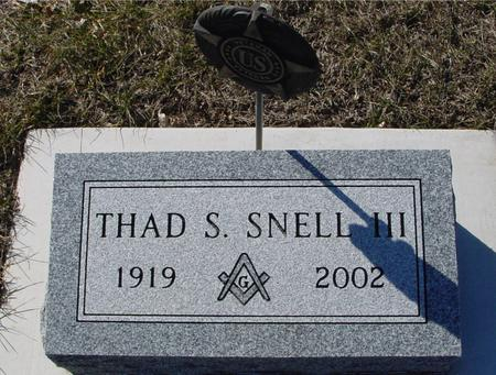 SNELL, THAD S. III - Ida County, Iowa | THAD S. III SNELL