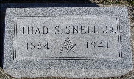 SNELL, THAD S.  JR. - Ida County, Iowa | THAD S.  JR. SNELL