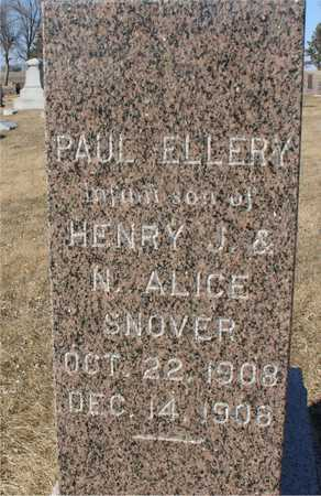SNOVER, PAUL ELLERY - Ida County, Iowa | PAUL ELLERY SNOVER