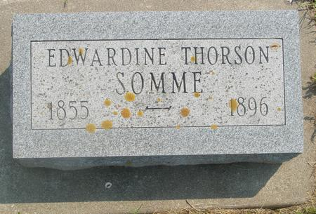 THORSON SOMME, EDWARDINE - Ida County, Iowa | EDWARDINE THORSON SOMME