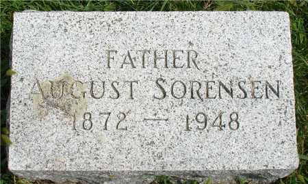 SORENSEN, AUGUST - Ida County, Iowa | AUGUST SORENSEN