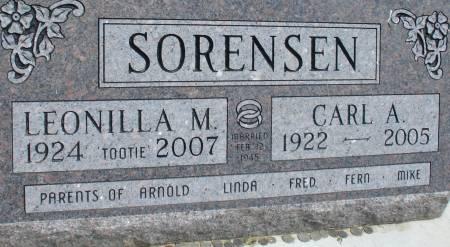 SORENSEN, CARL A. - Ida County, Iowa | CARL A. SORENSEN
