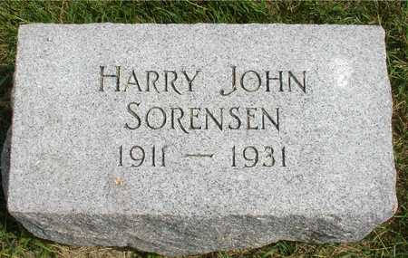 SORENSEN, HARRY JOHN - Ida County, Iowa | HARRY JOHN SORENSEN