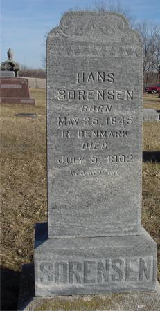 SORENSEN, HANS - Ida County, Iowa | HANS SORENSEN