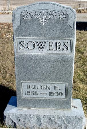 SOWERS, REUBEN H. - Ida County, Iowa | REUBEN H. SOWERS