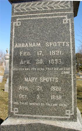 SPOTTS, MARY - Ida County, Iowa | MARY SPOTTS