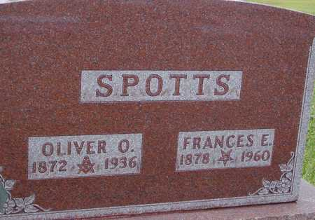 SPOTTS, OLIVER & FRANCES E. - Ida County, Iowa | OLIVER & FRANCES E. SPOTTS