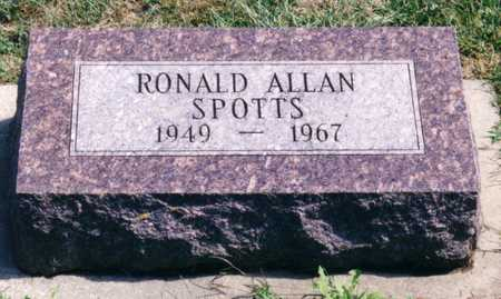 SPOTTS, RONALD ALLAN - Ida County, Iowa | RONALD ALLAN SPOTTS