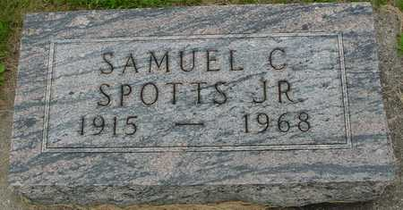 SPOTTS, SAMUEL C., JR. - Ida County, Iowa | SAMUEL C., JR. SPOTTS