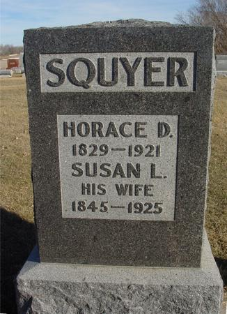 SQUYER, HORACE & SUSAN - Ida County, Iowa | HORACE & SUSAN SQUYER
