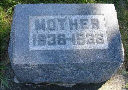 STANGE, MOTHER - Ida County, Iowa | MOTHER STANGE
