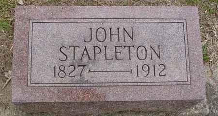 STAPLETON, JOHN - Ida County, Iowa | JOHN STAPLETON