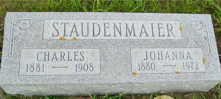 STAUDENMAIER, CHARLES & JOHANNA - Ida County, Iowa | CHARLES & JOHANNA STAUDENMAIER