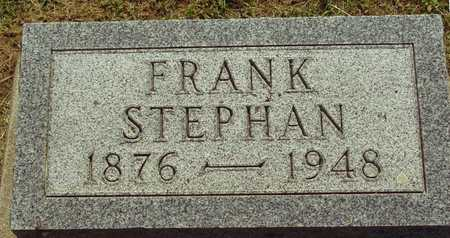 STEPHAN, FRANK - Ida County, Iowa | FRANK STEPHAN
