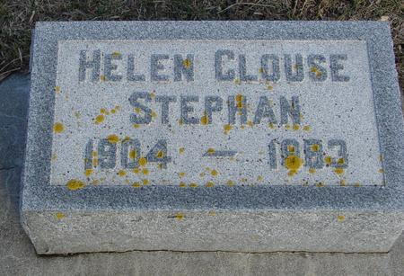 CLOUSE STEPHAN, HELEN - Ida County, Iowa | HELEN CLOUSE STEPHAN