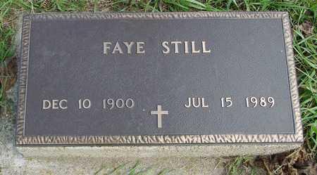 STILL, FAYE - Ida County, Iowa   FAYE STILL