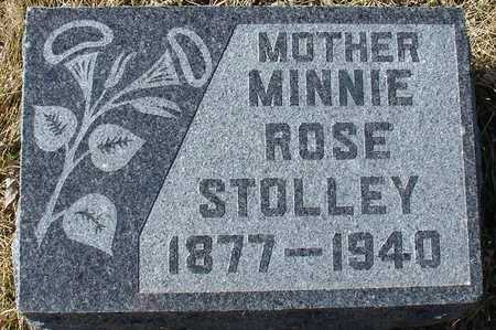 STOLLEY, MINNIE ROSE - Ida County, Iowa | MINNIE ROSE STOLLEY