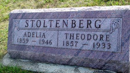 STOLTENBERG, THEODORE & ADELIA - Ida County, Iowa | THEODORE & ADELIA STOLTENBERG
