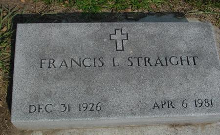 STRAIGHT, FRANCIS L. - Ida County, Iowa | FRANCIS L. STRAIGHT