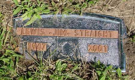 STRAIGHT, LEWIS JIM - Ida County, Iowa | LEWIS JIM STRAIGHT