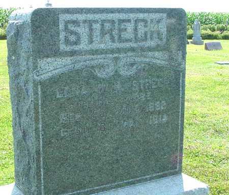 STRECK, LENA W. H. - Ida County, Iowa | LENA W. H. STRECK
