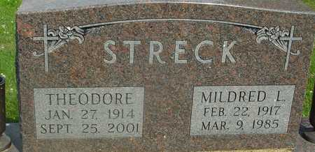 STRECK, TED & MILDRED L. - Ida County, Iowa | TED & MILDRED L. STRECK