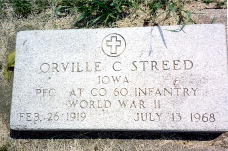 STREED, ORVILLE C. - Ida County, Iowa | ORVILLE C. STREED