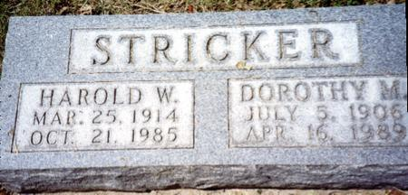 STRICKER, HAROLD - Ida County, Iowa | HAROLD STRICKER