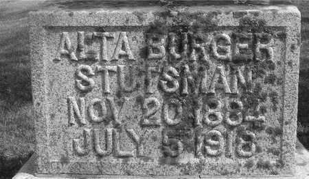 BURGER STUTSMAN, ALTA - Ida County, Iowa | ALTA BURGER STUTSMAN