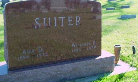 SUITER, W. E. & ADA - Ida County, Iowa | W. E. & ADA SUITER