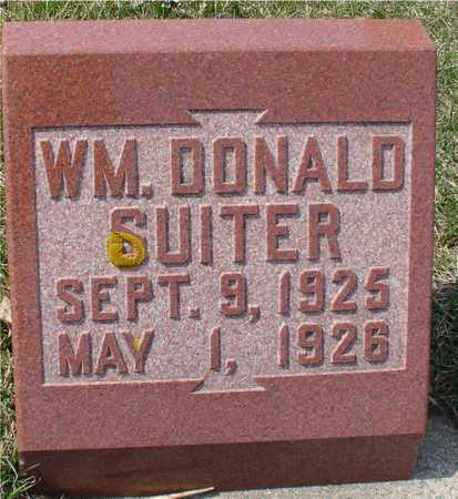 SUITER, WILLIAM DONALD - Ida County, Iowa | WILLIAM DONALD SUITER