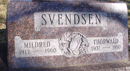SVENDSEN, THORWALD & MILDRED - Ida County, Iowa | THORWALD & MILDRED SVENDSEN