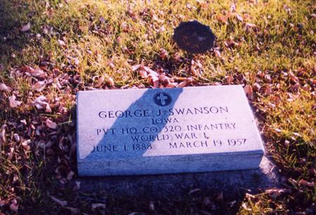 SWANSON, GEORGE J. - Ida County, Iowa | GEORGE J. SWANSON