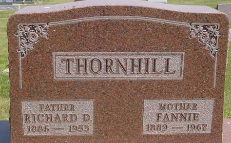 THORNHILL, RICHARD & FANNIE - Ida County, Iowa | RICHARD & FANNIE THORNHILL