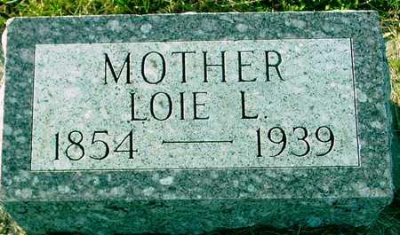 TAYLOR, LOIE L. - Ida County, Iowa | LOIE L. TAYLOR