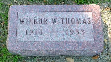 THOMAS, WILBUR W. - Ida County, Iowa | WILBUR W. THOMAS