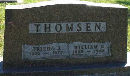 THOMSEN, WILLIAM T. & FRIEDA - Ida County, Iowa | WILLIAM T. & FRIEDA THOMSEN