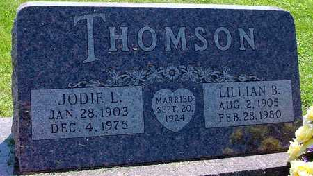 THOMSON, JODIE L. & LILLIAN B. - Ida County, Iowa | JODIE L. & LILLIAN B. THOMSON